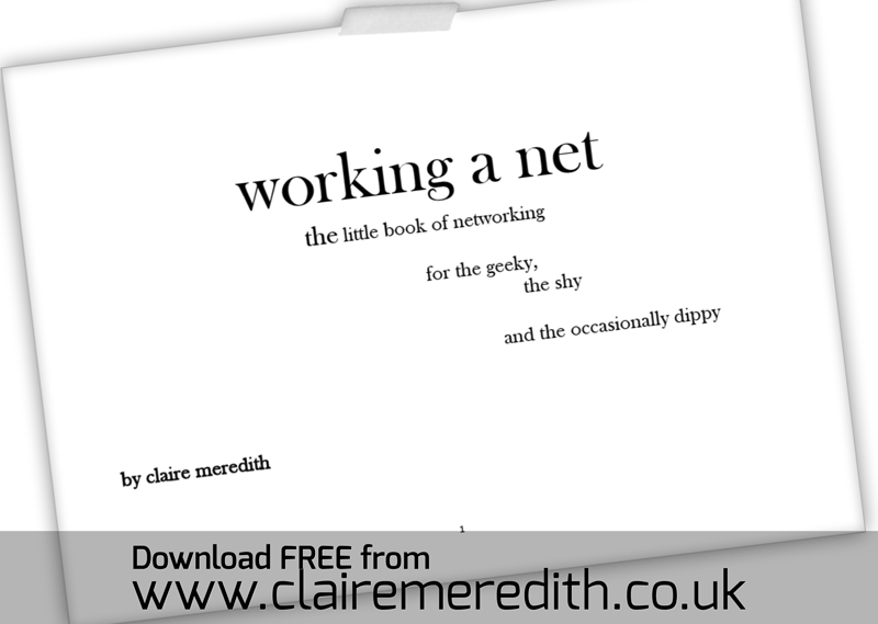 Working-a-net by Claire Meredith